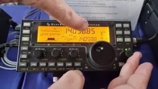 Video David KG6IRW presents Elecraft PX3 + Elecraft KX3 at Hamradio 2017 Friedrichsshafen download MP3, 3GP, MP4, WEBM, AVI, FLV Desember 2017