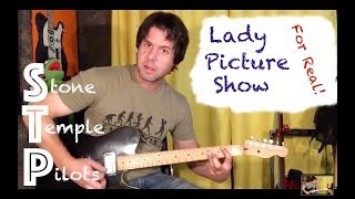 Guitar Lesson: How To For Real Play Lady Picture Show by Stone Temple PIlots