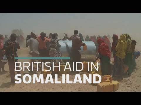 Somaliland: Your aid donations at work