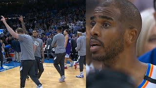 The NBA has suspended the season! Thunder and Jazz players were sent back to the locker room.