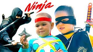 Little Ninja Kids | Pretend Play by #Erik Show
