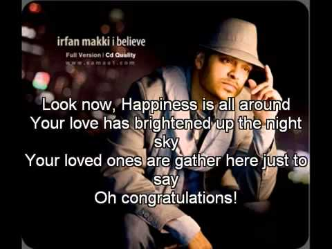 Irfan Makki - Mabrook with Lyrics
