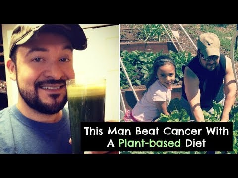 '40-Year-Old Vegan' Healed Himself of Testicular Cancer with a Raw Diet & CBD Oil