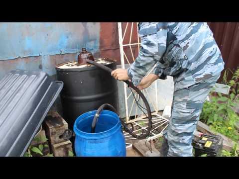 Насос для перекачки топлива,отработки