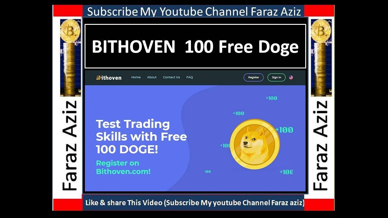 BITHOVEN Free 100 DogeCoin limited Offer II Urdu II Hindi II