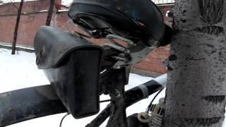 велосипед с мотором f - 80(видео про велосипед с мотором F-80., 2012-11-23T13:00:22.000Z)
