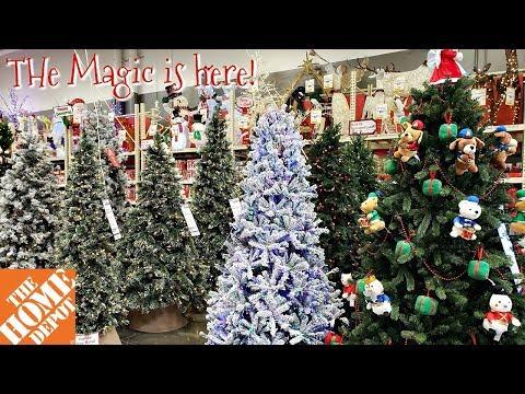THE HOME DEPOT CHRISTMAS DECOR SNEEK PEEK WALK THROUGH SEPTEMEBR 2018