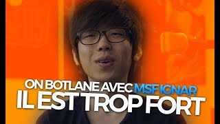 ON BOTLANE AVEC MSF IGNAR, IL EST TROP FORT - Caitlyn ADC Ranked Challenger