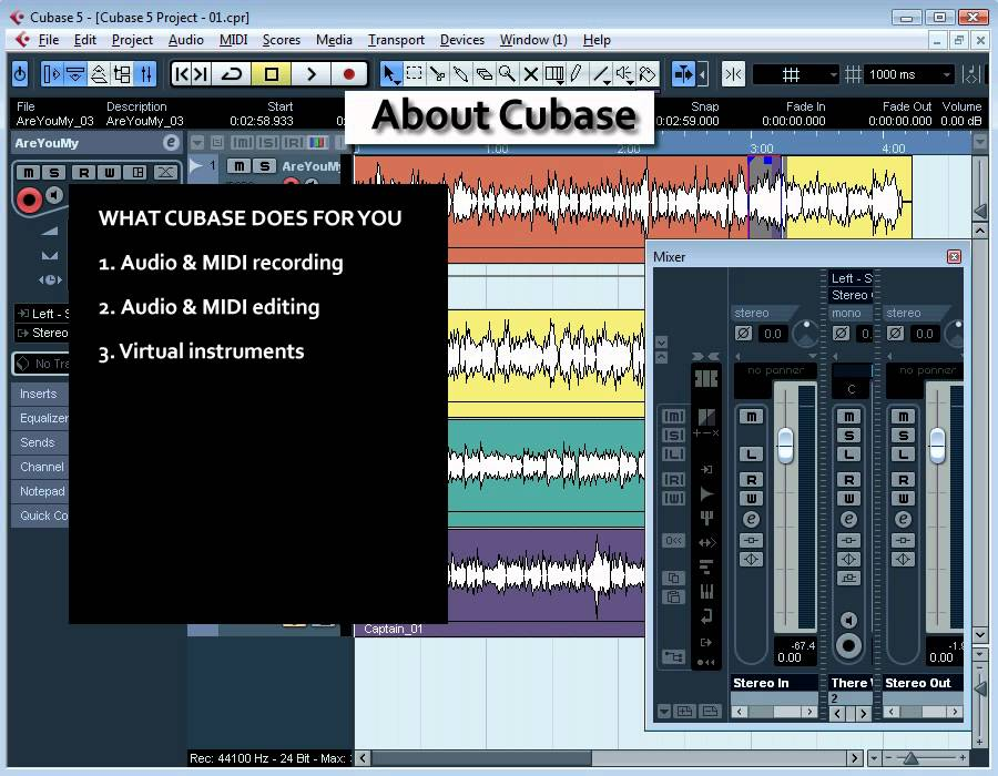 cubase 5 video tutorial all about cubase 02 youtube rh youtube com Cubase for Mac Cubase SX Tutorial