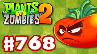 uLTOMATO! New Plant! - Plants vs. Zombies 2 - Gameplay Walkthrough Part 768