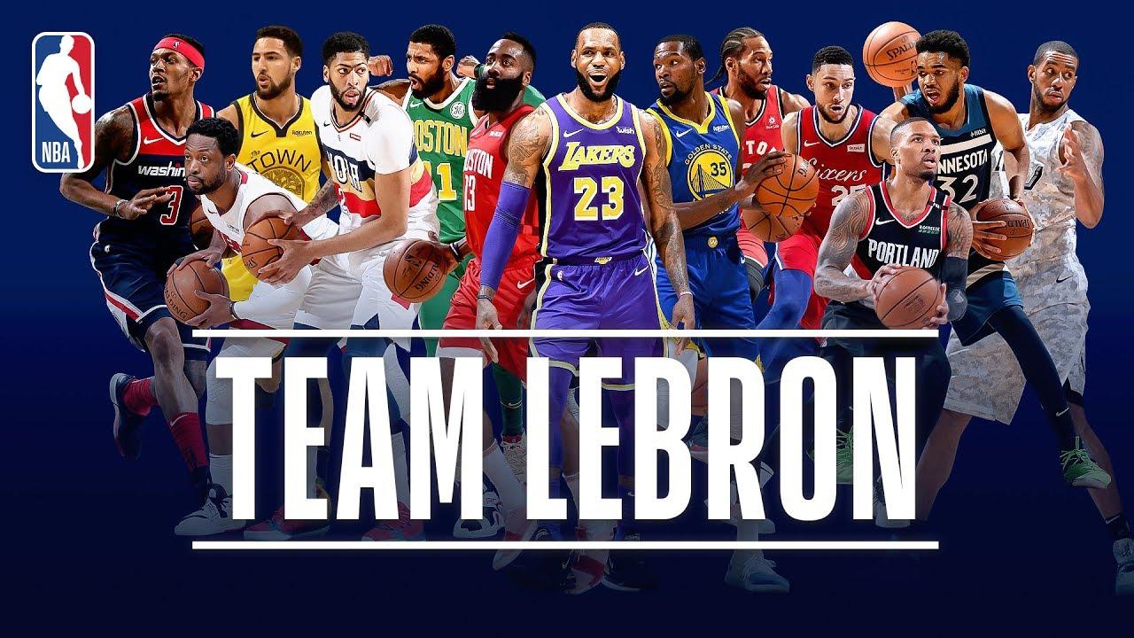 The Best Of Team Lebron This Season 2019 Nba All Star