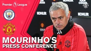 Jose Mourinho Press Conference | Manchester City v Manchester United