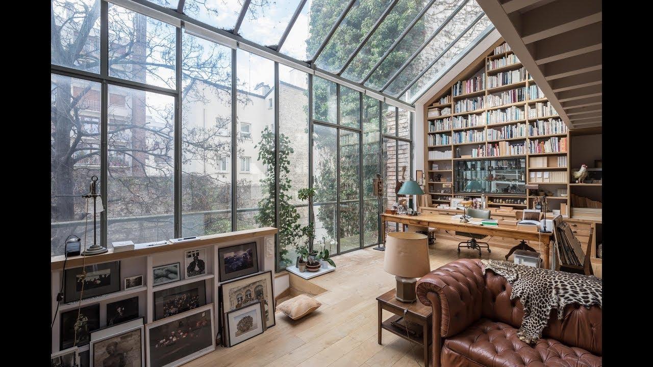 Maison d'architecte avec jardin - Espaces Atypiques - YouTube