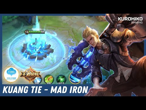 Hero Baru, Kuang Tie 狂铁 - Animasi Skill 3 nya Keren Banget - Kings of Glory / League of King