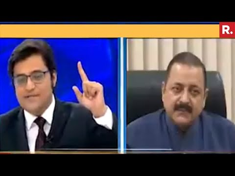 Dr. Jitendra Singh Speaks To Arnab Goswami On PM Modi's Gujarat Rally