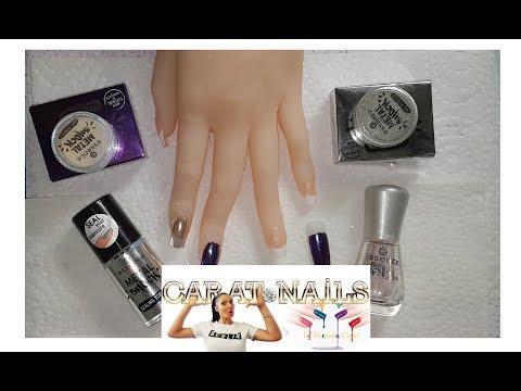 Test : Essence Metal Shock | Nagellack - Pigmente| Funktioniert das ???  | Carat Nails