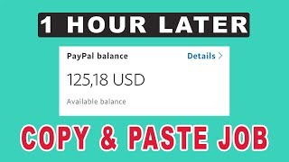 HOW TO MAKE $125 IN 1 HOUR FOR FREE (Copy And Paste) IN 2019