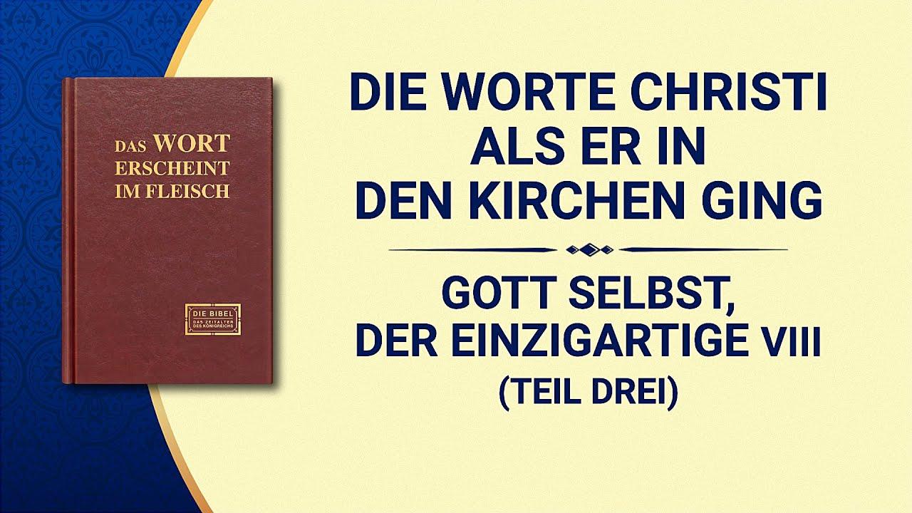 Das Wort Gottes   Gott Selbst, der Einzigartige VIII Gott ist die Quelle des Lebens für alle Dinge (II) (Teil Drei)