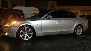 BMW E60 530d Делаю сход-развал