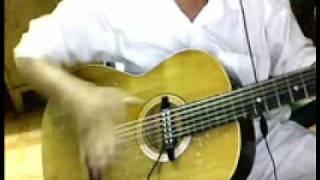 nhacsyguitar2011 : dem hat guitar  chachacha  flamenco