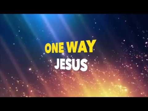 One Way Jesus (space vbs, LYRIC video)