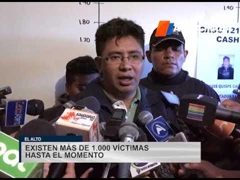 El Alto: FELCC aprehende a dos personas por caso Bitcoin Cash