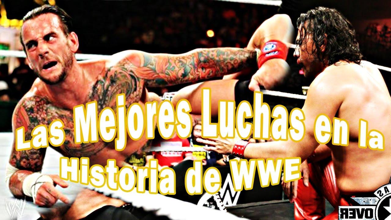 Las Mejores luchas en la historia de la WWE (Actuales) - loquendo