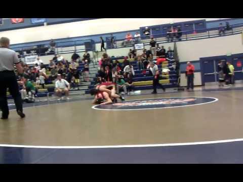Utah Wrestling Region 7 Bronze Medal Match 2012 | 170 Pounds | Drew Hale v Garrett Williams