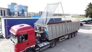 Cramaro® Flip-Tarp 11.5m Electric Operation