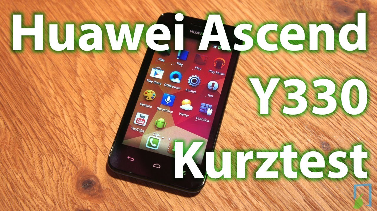 Huawei Ascend Y330 Kurztest deutsch | TBLT.de