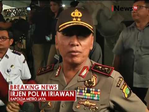 Pernyataan Kapolda Metro Jaya terkait OPP Kemenhub - iNews Breaking News 11/10