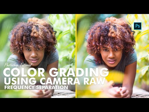 Photoshop Tutorial -  Color Grading Using Camera Raw thumbnail