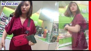 Gặp Lại Vị Khách Trong Vlog chị khách bị giựt đồ mất hết tài sản || Xe Ôm 24h