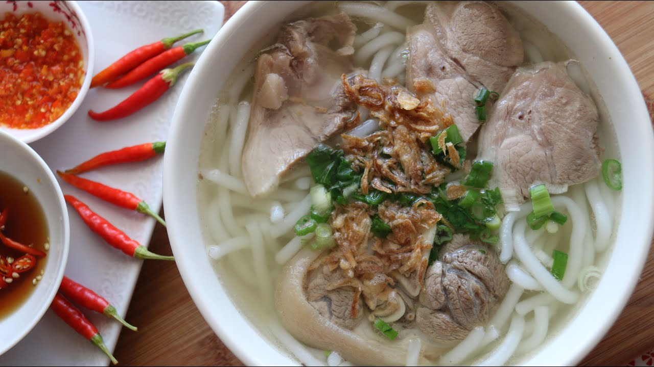 Pork vietnamese soup recipe