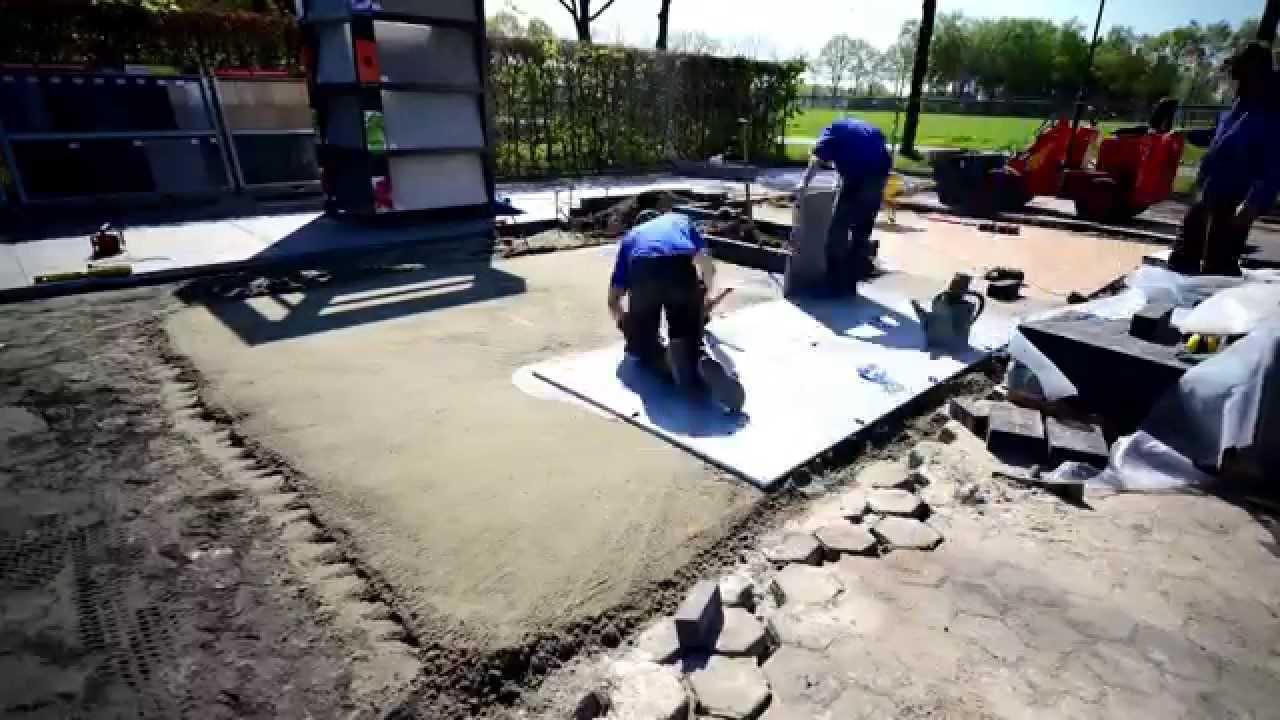 Keramiek Tegels Buiten : Realisaties natuursteen en keramische tegels all import