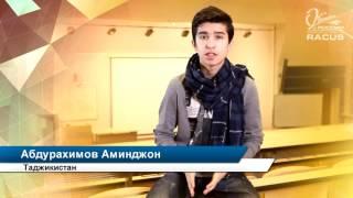 Обучение в России. Абдурахимов Аминджон, Таджикистан