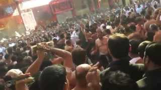 KJT Zanjeer Zani - Karbala Ashura 2014