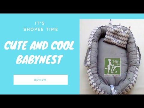 BABY NEST | SHOPEE HAUL
