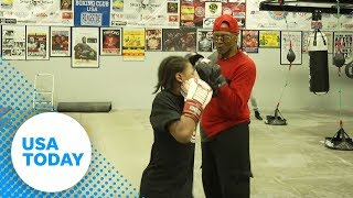 Father offers his son a life he never had through boxing | USA TODAY
