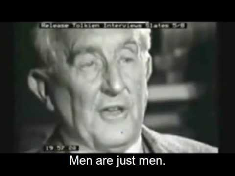 Interview with J.R.R Tolkien (BBC Archival Footage)