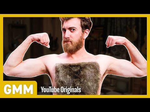Reverse Chest Wax | FLIP IT CHALLENGE