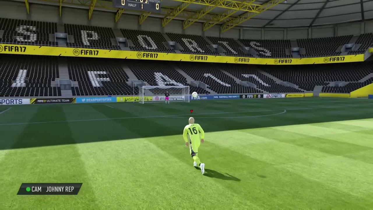 PRO CAM FIFA LEGENDS JOHNNY REP