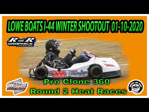 Pro Clone 360 Round 2 Heat Races Lowe Boats I-44 Winter Shootout 01-10-2020