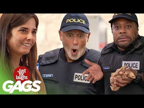 Best of Police Pranks | Just For Laughs Compilation