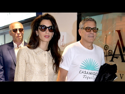 George and Amal Clooney Expecting TWINS in June