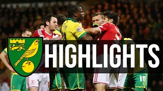 HIGHLIGHTS: Norwich City 0-1 Middlesbrough