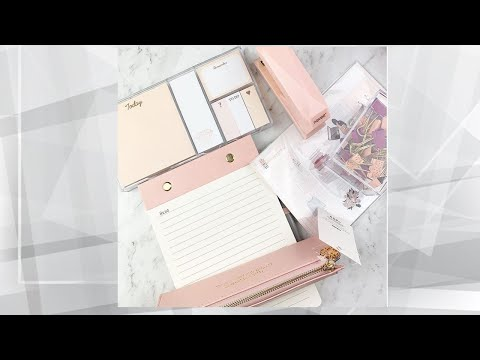 Unboxing Planner World Subscription