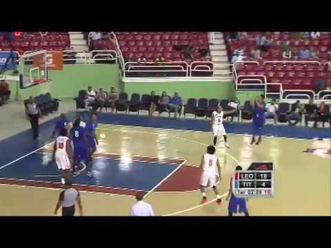 Jerry Flores debut en La Liga Nacional de Baloncesto