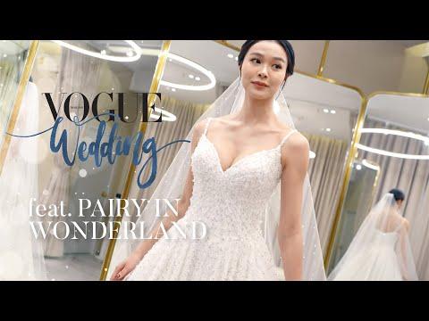 โว้กพาลองชุดแต่งงาน feat. Pairy in Wonderland เผยเทคนิคเลือกชุดสำหรับสาวไหล่กว้าง l VOGUE WEDDING