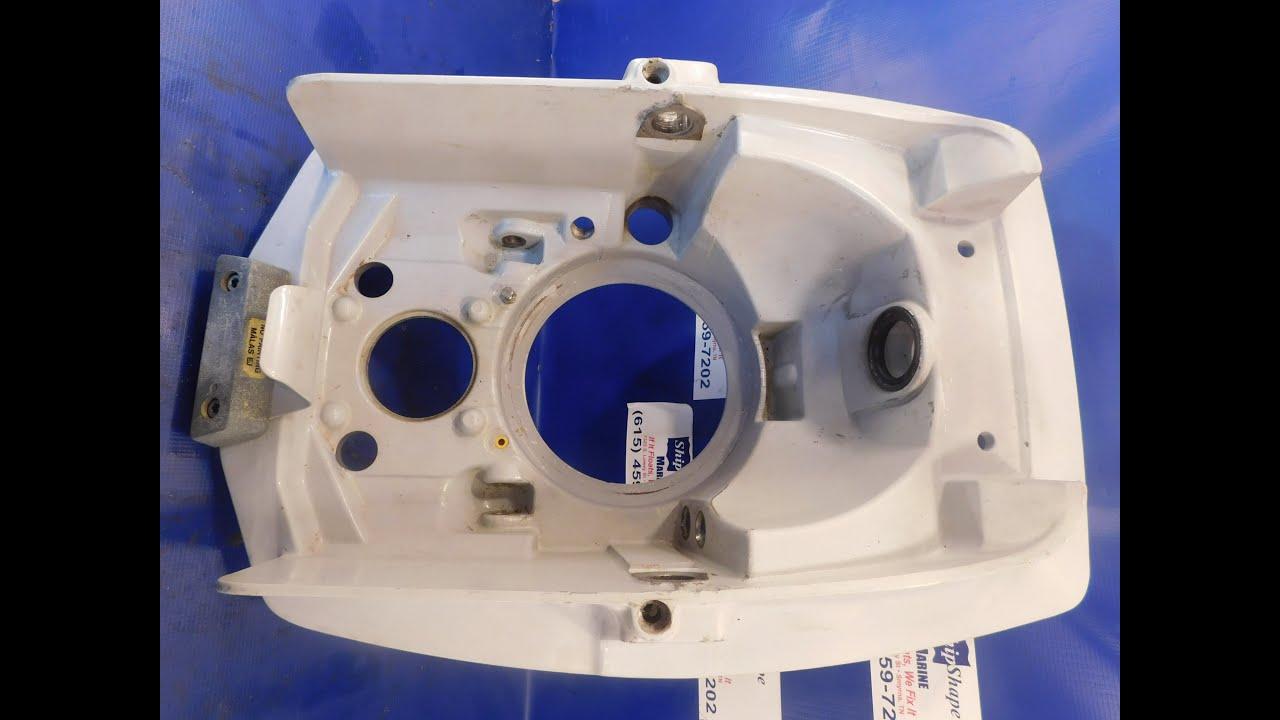 FOR SALE - Volvo Penta Transom Shield DP 854620 $179.95 P-18-8 - YouTube